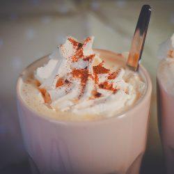Vit varm choklad