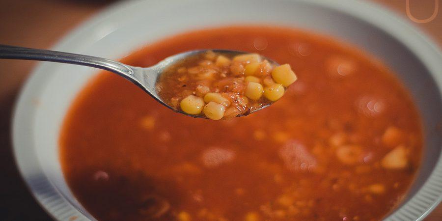 mexikansk soppa recept