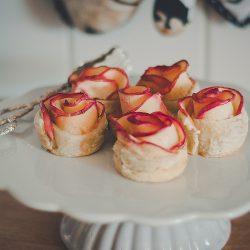 Äppelrosor