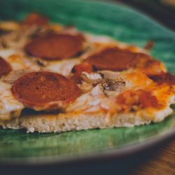 Pizzadeg utan jäst