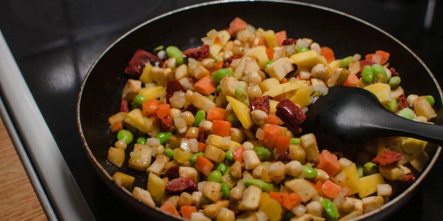 vegetarisk pyttipanna felix